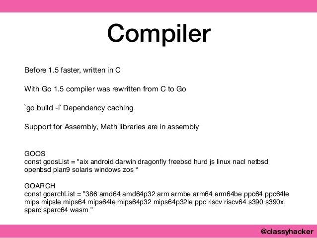 Go - A Key Language in Enterprise Application Development?