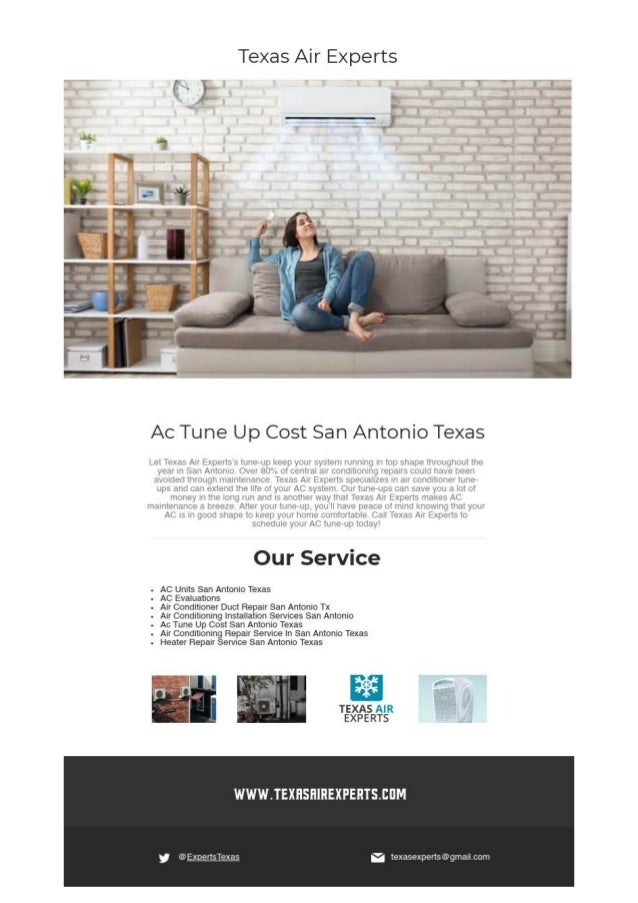 How Much Does A Tune Up Cost >> Ac Tune Up Cost San Antonio Texas