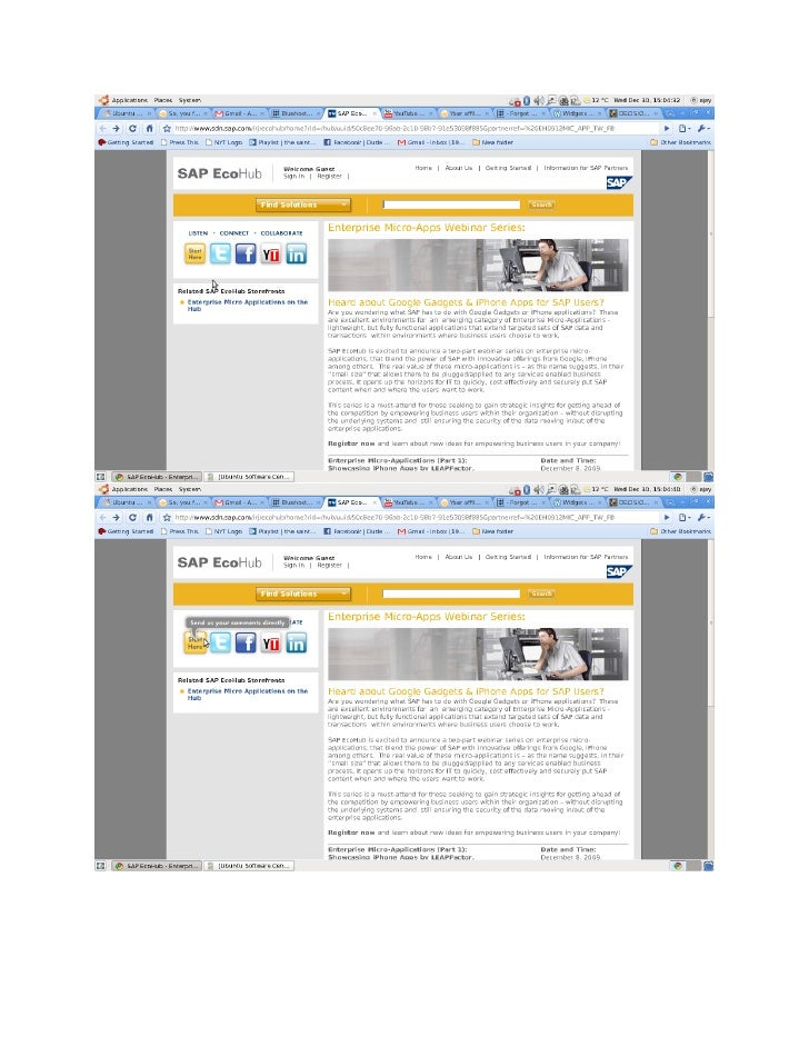 SAP Webinars