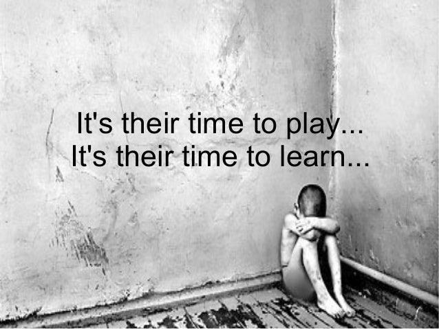 It's their time to play... It's their time to learn...