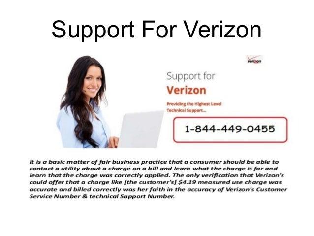 Verizon Customer Service Number 1-844-449-0455