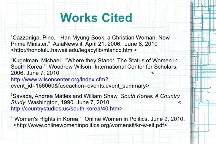 "Women in Modern Day South Korea <ul><li>•  Discrimination 2 </li><ul><li>S.K. corporate culture described as ""secretive an..."