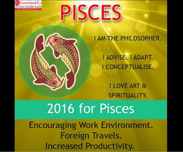 Pisces - Free Pisces Horoscope, Pisces Traits, Ganesha Speaks
