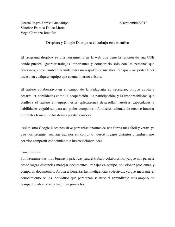 García Reyes Teresa Guadalupe                                    6/septiembre/2012Sánchez Estrada Dulce MaríaVega Carranza...