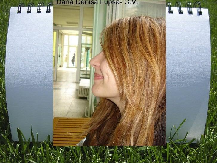 Dana Denisa Lupsa- C.V.
