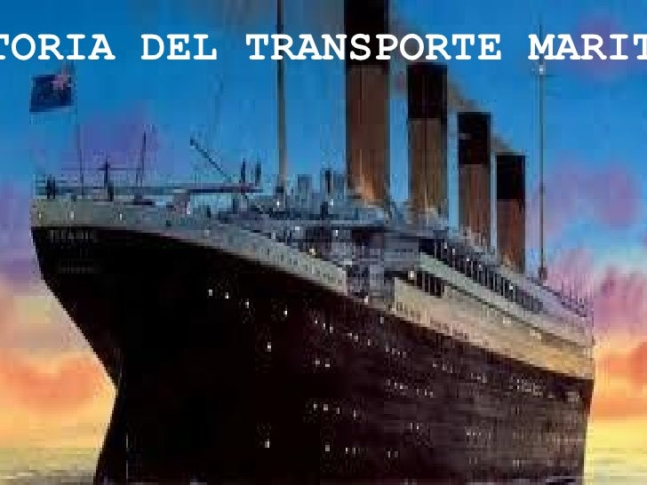 TORIA DEL TRANSPORTE MARIT