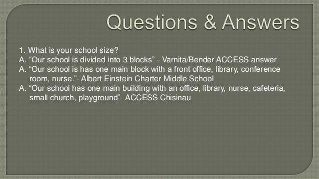 About High Schools, Ungheni Slide 3