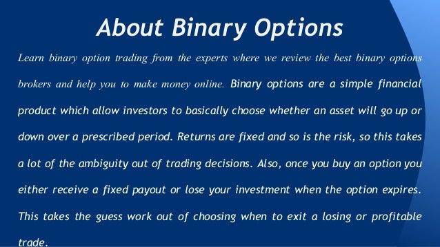 Binary options signal bot
