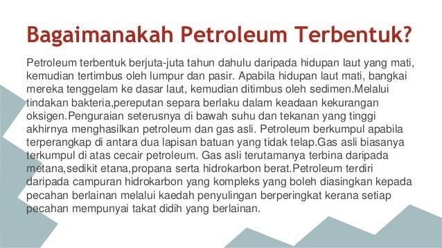Bagaimana Petroleum Terbentuk Maksudnya Faktor Faktor Petroleum T