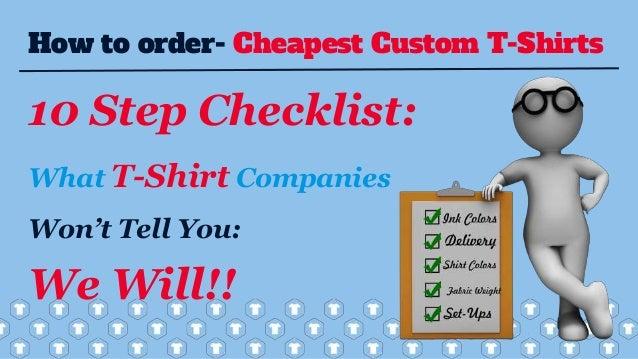 Cheap Custom T-Shirts | Buy Custom T-Shirts | Screen Print T