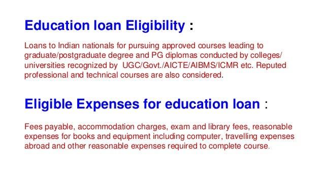 Education loan Slide 3