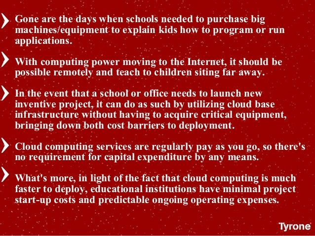 Gone are the days when schools needed to purchase big machines/equipment to explain kids how to program or run application...