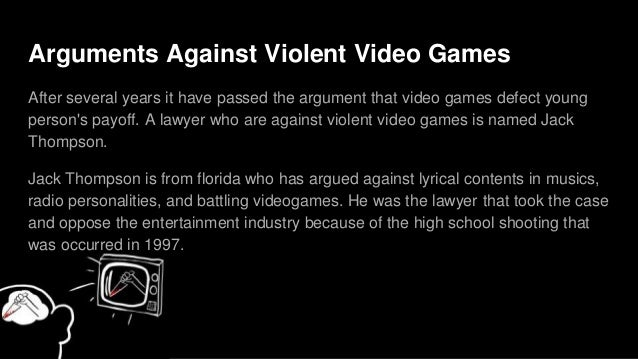 Anti violence in video game essay