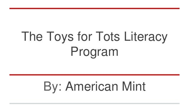 Toys For Tots 2014 Application : The toys for tots literacy program