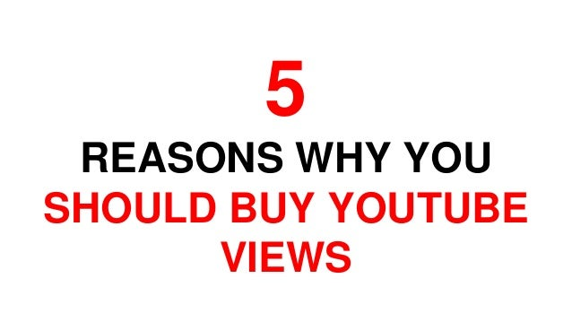 The Ultimate Guide To Buy Views On Youtube