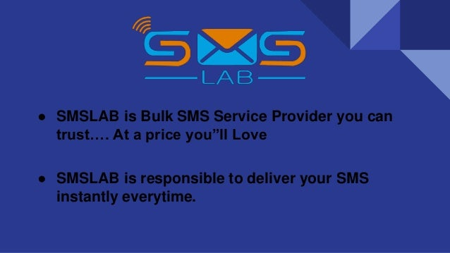 Bulk SMS Services for Transactional and Promotional | SMSLAB