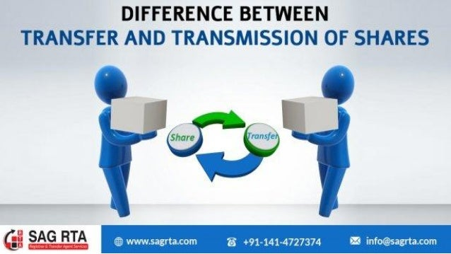Recommended Articles ❏ How to Dematerialise the Shares Through RTA ❏ Key Difference Between Transfer V/S Transmission of S...