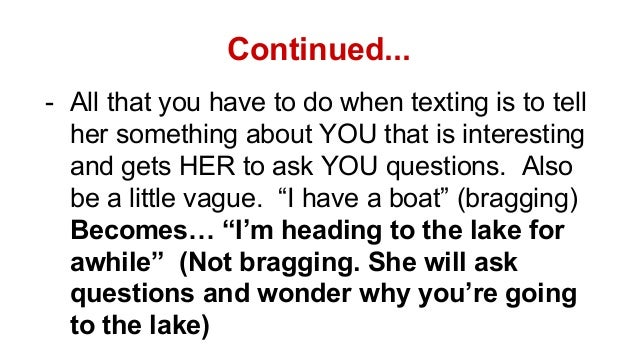 how to ask a girl out over text pua