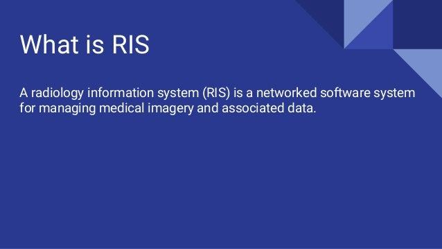 Radiology Information System Ris