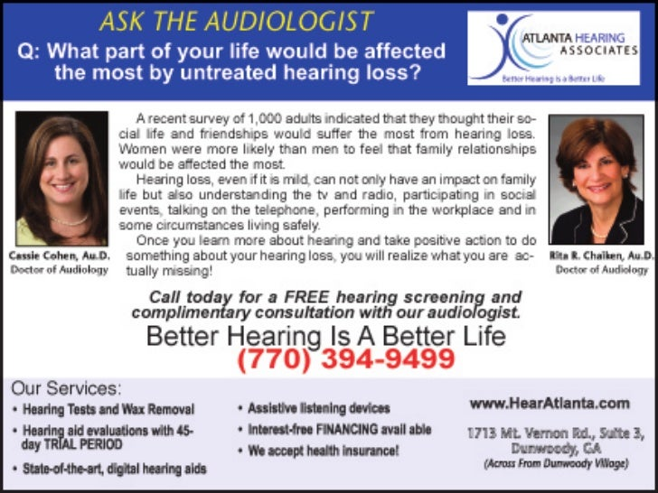 Untreated Hearing Loss