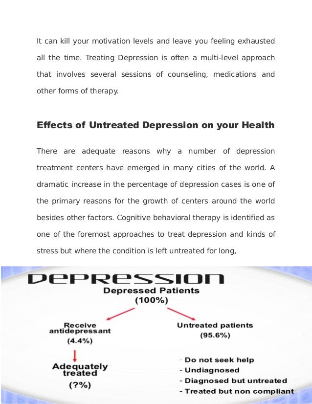 the effects of clinical depression The effect of exercise on negative affect has been examined in hundreds of studies however, the effect of exercise on diagnosed clinical depression has received far less attention furthermore, poor methodological techniques predominate and results have been conflicting a meta-analysis was.