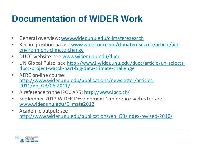 unu wider research papers Contributions emanating from the unu-wider project on promoting  many  existing studies of entrepreneurship in africa are concerned with.