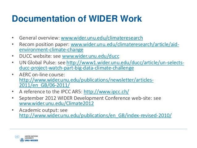 unu-wider research paper Unu world institute for development economics research (unu-wider)  paper, roodman and morduch (2011) attempt to replicate the afore-mentioned three.