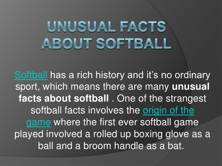 Unusual facts