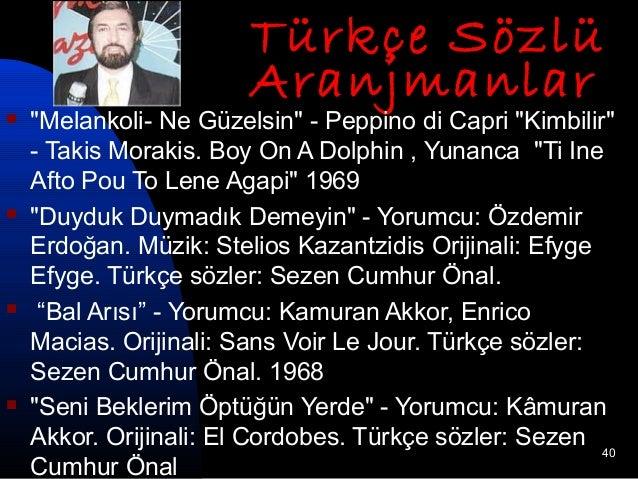 Özdemir Erdoğan - Yorumcu