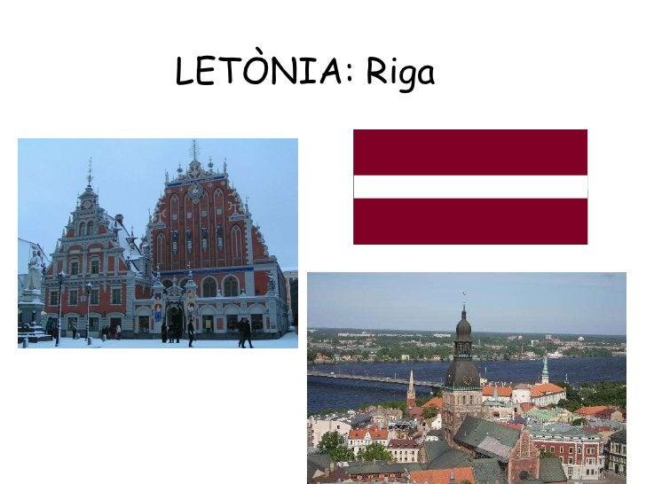 LETÒNIA: Riga