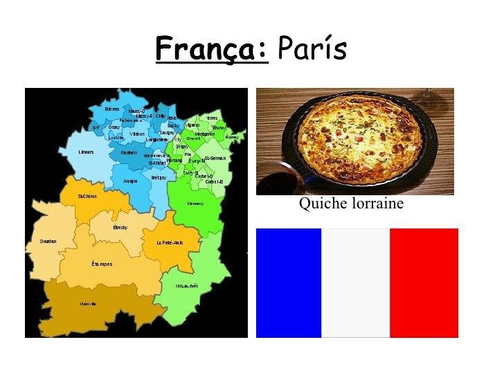 França:  París Quiche lorraine