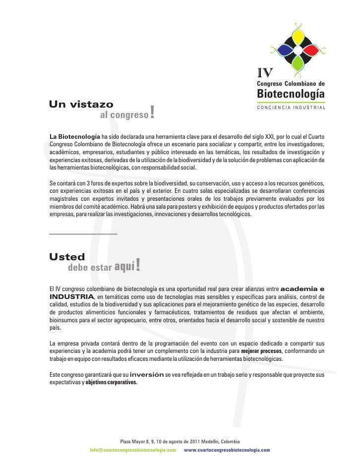 IV                                                                                          Congreso Colombiano de        ...