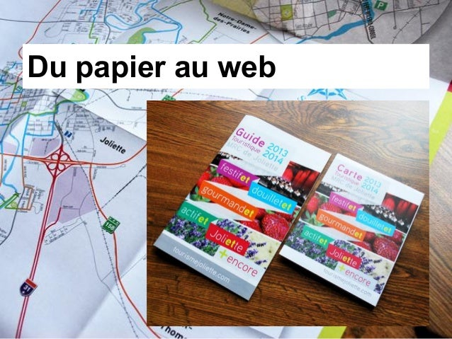 Du papier au web