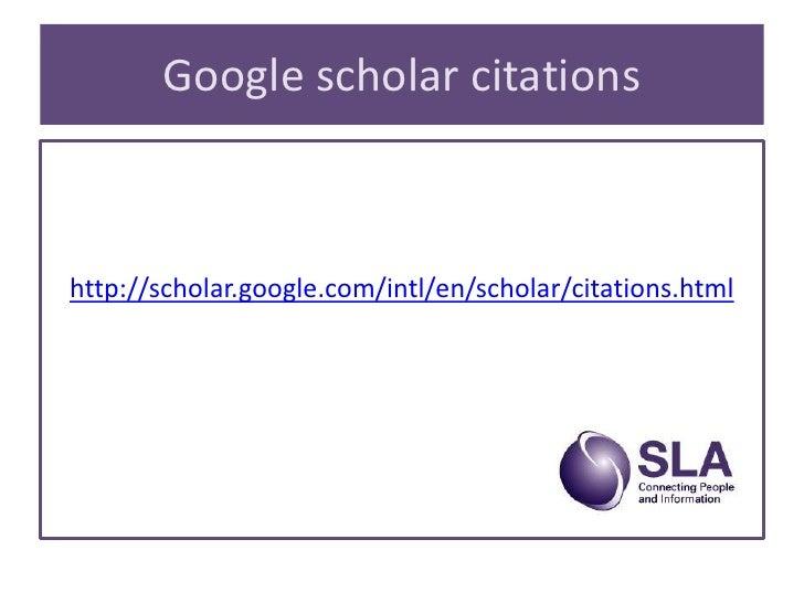 bibliometrics  from garfield to google scholar