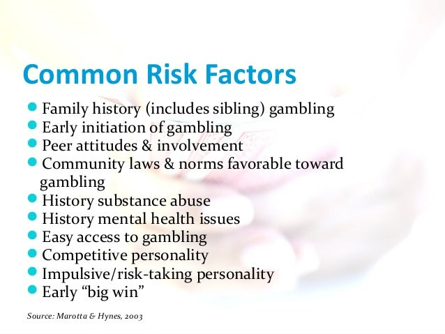 Gambling and other risk behaviors on university campuses centrebet casino