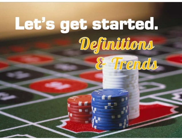 Recreational gambling definition william hill online business
