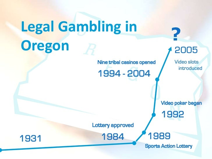 Oregon legal gambling manoir casino