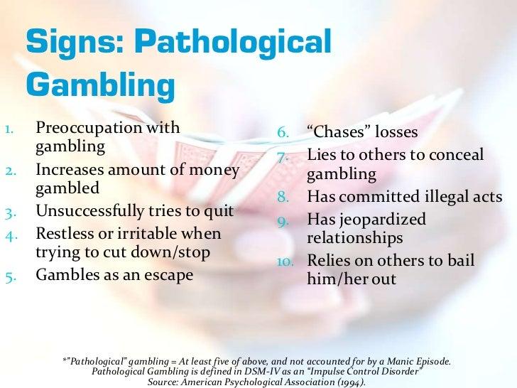 Risk factors of gambling addiction sterling casino cruise florida