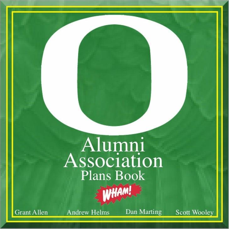 Alumni              Association                 Plans Book                             !Grant Allen   Andrew Helms   Dan M...
