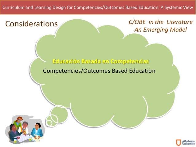 curriculum and learning design for competencies