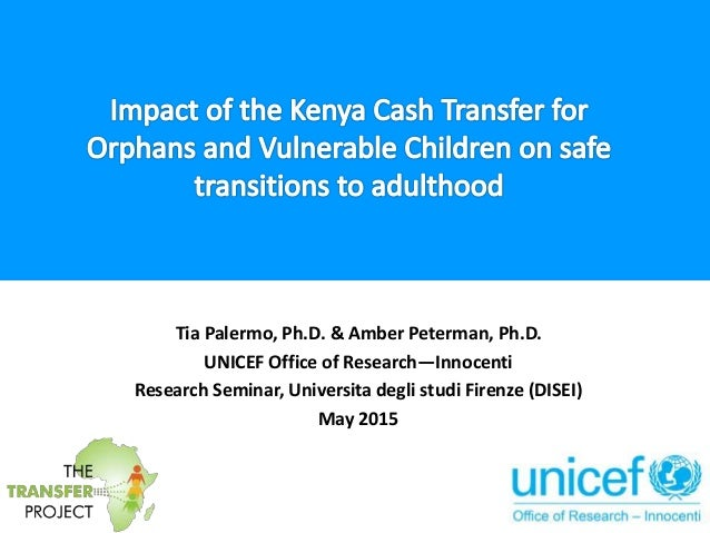 impact evaluation of a cash transfer Book review from armando barrientos: from evidence to action: the story of  cash transfers and impact evaluation in sub-saharan africa the journal of.