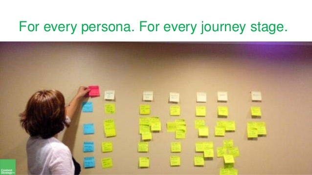 For every persona. For every journey stage.