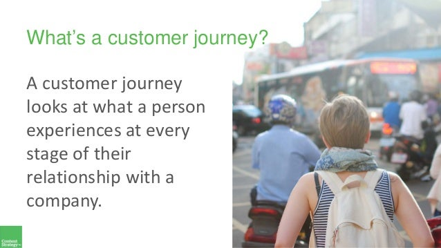 What's a customer journey? A customer journey looks at what a person experiences at every stage of their relationship with...