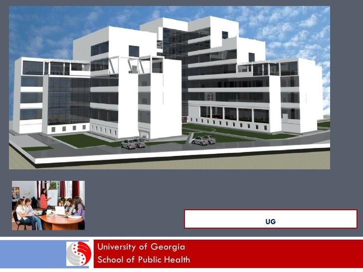 UGUniversity of GeorgiaSchool of Public Health