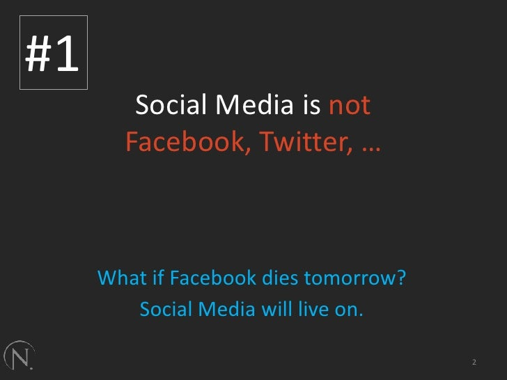 5 Things About Social Media Slide 2