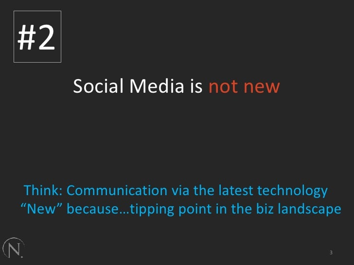 5 Things About Social Media Slide 3