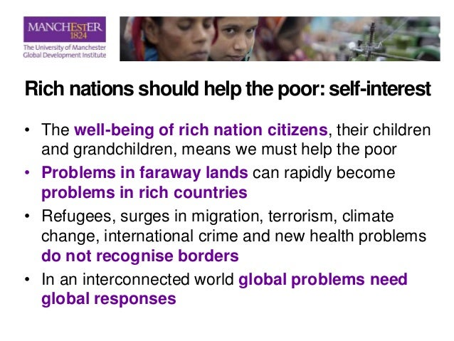 Should rich nations help poor nations essay - english essay