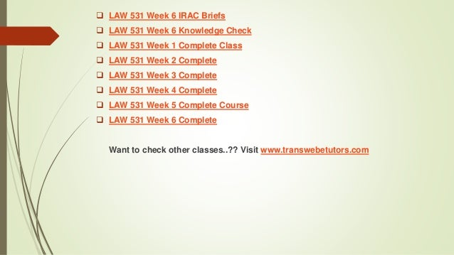 irac business law