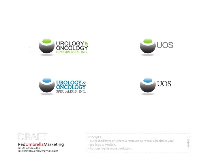 Oncology/Urology practice Rebranding