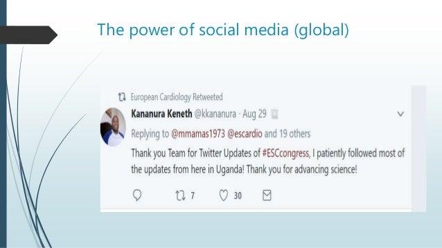 The power of social media (global)